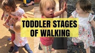 TODDLER Stages of Walking 🏃‍♀️Help Delayed Toddlers To Learn How To Walk