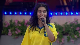 Alessia Cara - Scars To Your Beautiful Live in Sweden (Allsång På Skansen 2018)