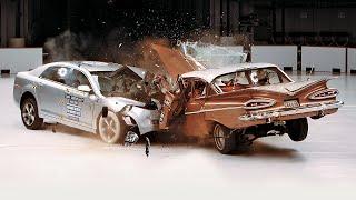Dokumentárny film Technológia - Chevrolet Bel Air 1959 vs Chevrolet Malibu 2009