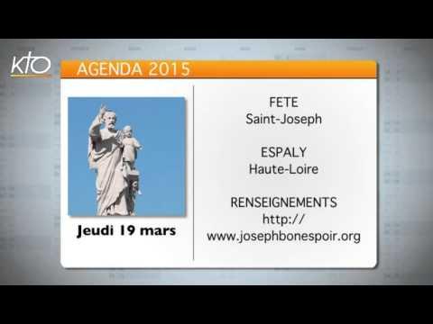 Agenda du 13 mars 2015
