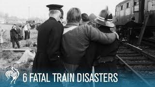 6 Fatal Train Disasters   British Pathé