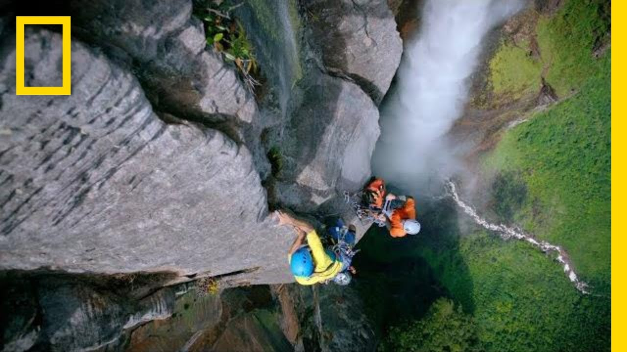 Climbing Angel Falls, the Beauty and the Danger | One Strange Rock thumbnail