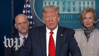 WATCH: Trump, White House coronavirus task force hold news conference - 3/19 (FULL LIVE STREAM)