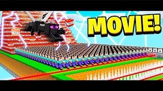 500 FANS Vs EVERYTHING IN MINECRAFT! (MOVIE)