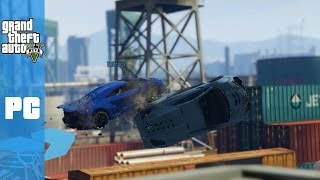 EPIC TAKEDOWN ! (GTA 5 PC Races Funny Moments)