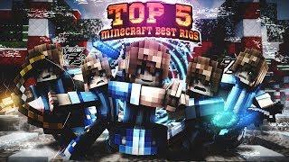 • Top 5 Minecraft Best Rigs (C4D) •