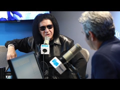 Gene Simmons on Donald Trump // Radio Andy // SiriusXM