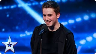 David Geaney taps up a storm on the BGT stage | Auditions Week 7 | Britain's Got Talent 2017