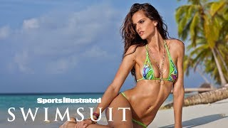 Izabel Goulart Takes You To The Beach Via Helicopter | Making Of | Sports Illustrated Swimsuit