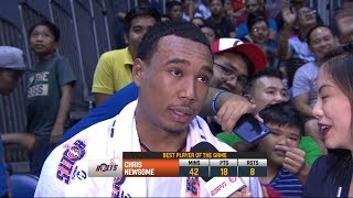 [Sport5]  Best Player: Chris Newsome | PBA Commissioner's Cup 2018