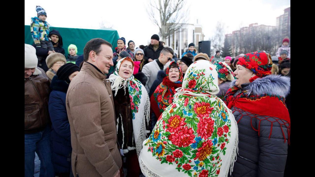 У Солом'янському районі яскраво відзначили свято Масляної (відео)