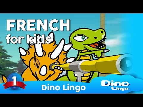 Learn French for kids - Animals - Online French lessons for kids - Dinolingo
