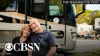 "America's ""modern nomads"" give up their homes for life on the road in RVs"