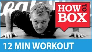 Boxing Workout - Fitness Training at Home (No Equipment) by Sneak Punch