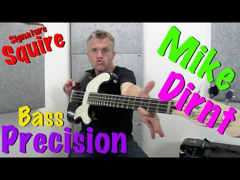Mike Dirnt Signature Fender Squire Precision Bass Review