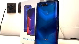 Unboxing Honor View 20 e prime impressioni