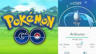 Articuno  - (Pokémon) - FIRST LEGENDARY ARTICUNO IN POKEMON GO! (It's Legit)
