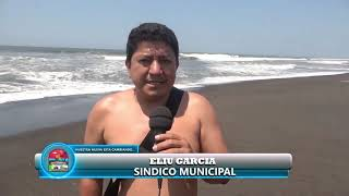 Playa segura en Tecojate