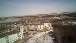 Tarantula X6/JJRC H16 FPV short flight