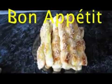 Сладкие, слоёные палочки. /// Bon Appetit #2