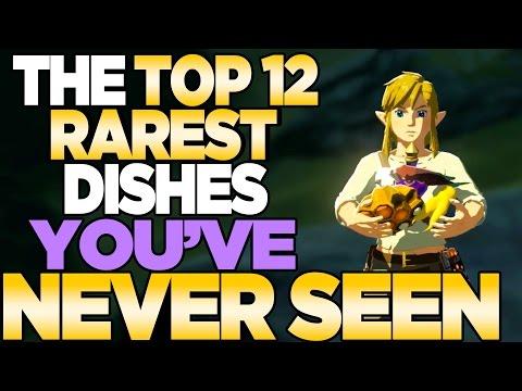 Video TOP 12 RAREST Recepies YOU'VE NEVER COOKED Breath of the Wild Zelda Cooking | Austin John Plays