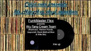 FunkMaster Flex presents  Wu-Tang Cream Team - line up (1998)