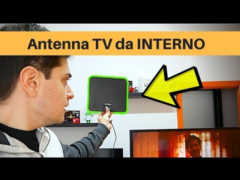 Migliore Antenna TV interna ( digitale Terrestre dvb-t2 )