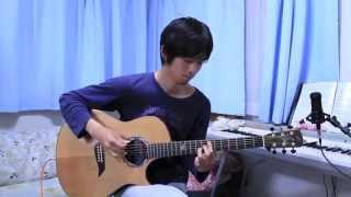 GUTS! / ARASHI 嵐 弱くても勝てます ドラマ主題歌  (Fingerstyle Acoustic Guitar solo)