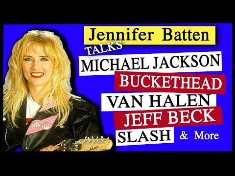 Jennifer Batten on MJ, Leaving Neverland, Slash, Buckethead & more (NatterNet Interview)