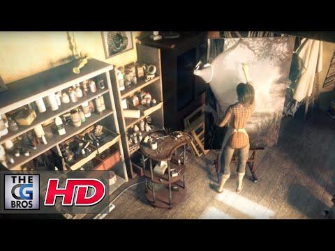 "CGI 3D Animated Short ""Reflet"" – by ESMA"