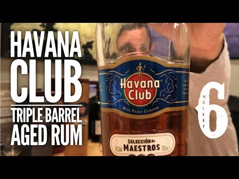 Havana Club Triple Barrel Aged Rum. Whisky in the 6 #311