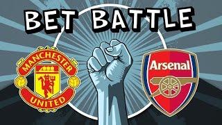 Manchester United Vs Arsenal  Sundays BIG 3  SBR Bet Battle