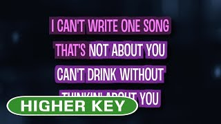 If I Can't Have You (Karaoke Higher Key)   Shawn Mendes