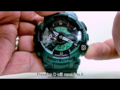 98d00c77f3a relógio casio g-shock ga 110 preto   dourado caixa e manual. Carregando  zoom.