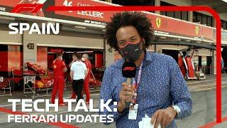Analisando as atualizações da Ferrari | F1 TV Tech Talk | 2021 Grande Prêmio da Espanha