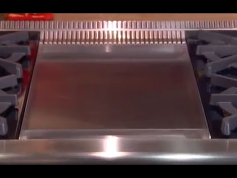 Wolf Griddle Quick Start - Open Burner Gas Ranges and Gas Rangetops
