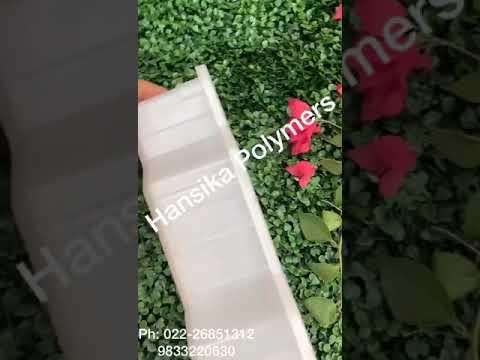 Plastic Zigzag Mould