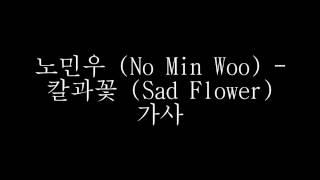 노민우 (No Min Woo) - 칼과꽃 (Sad Flower) 가사