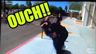 BRUTAL POLICE TAKE-DOWNS!!