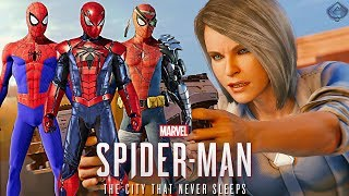 Spider-Man PS4 - New DLC Suits Revealed! Silver Lining DLC Release Date and Trailer!