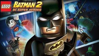 LEGO Batman 2 DC Super Heroes All Cutscenes Game Movie 1080p HD