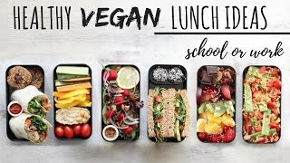 VEGAN SCHOOL LUNCH IDEAS » Healthy + Easy (bento Box)