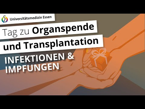 Infektionen und Impfungen nach einer Transplantation