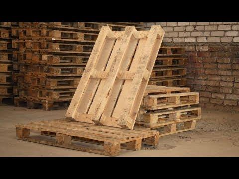 Открыть бизнес по производству паллет (деревянных поддонов)
