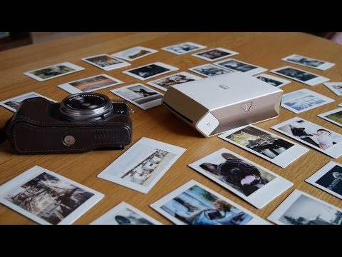 Quick Review – Fujifilm Instax Share SP-2 Film Printer
