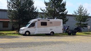 We got away with camping here | Leisure Travel Van v.57