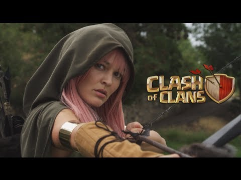 clash of clans live action movie trailer commercial