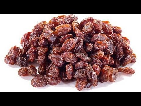 Video Health Benefits of Raisins - Nutritional Information
