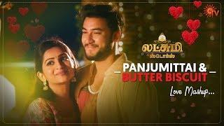 Panjumittai & Butter Biscuit Love Story   Lakshmi Stores   Love Mashup   Sun TV