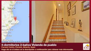preview picture of video '4-dormitorios 2-baños Vivienda de pueblo se Vende en Parcent Centre, Parcent, Alicante, Spain'